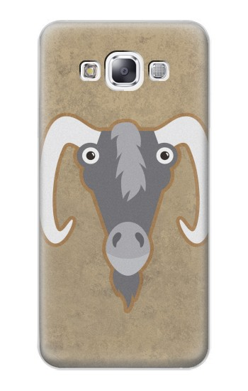 Printed Goat Cartoon Samsung Galaxy E7 Case