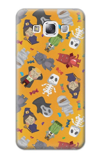 Printed Cute Halloween Cartoon Pattern Samsung Galaxy E7 Case