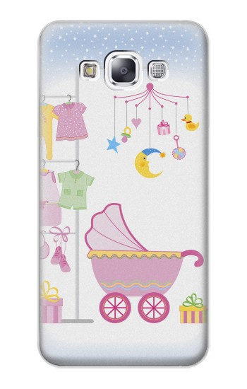 Printed Baby Supplies Samsung Galaxy E7 Case