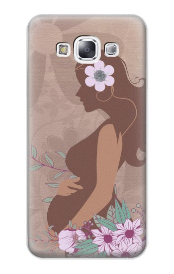 Printed Pregnant Mommy Baby Samsung Galaxy E7 Case