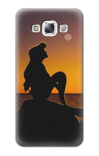 Printed Mermaid Sunset Samsung Galaxy E7 Case
