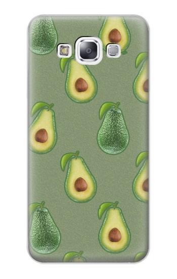 Printed Avocado Fruit Pattern Samsung Galaxy E7 Case
