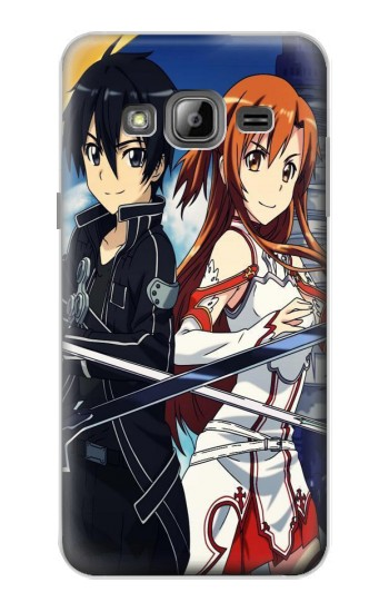 Printed Sword Art Online Samsung Galaxy J1 Case