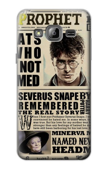 Printed Harry Potter Daily Prophet Samsung Galaxy J1 Case