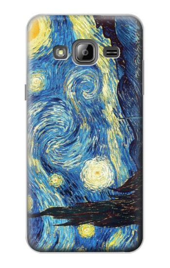 Printed Van Gogh Starry Nights Samsung Galaxy J1 Case