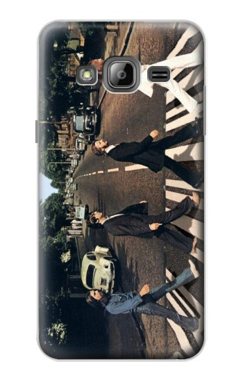 Printed The Beatles Abbey Road Samsung Galaxy J1 Case