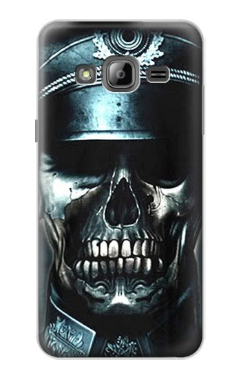 Printed Skull Soldier Zombie Samsung Galaxy J1 Case