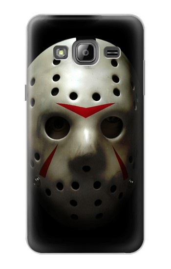 Printed Scary Hockey Mask Jason Samsung Galaxy J1 Case