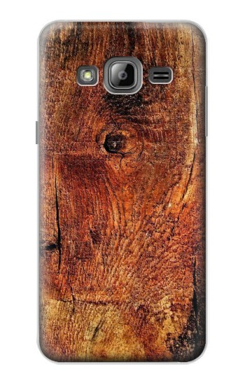 Printed Wood Skin Graphic Samsung Galaxy J1 Case