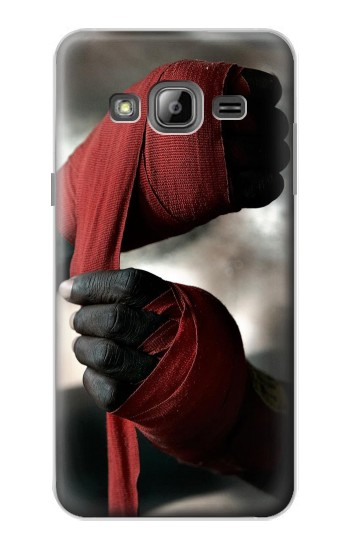Printed Boxing Fighter Samsung Galaxy J1 Case