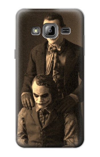 Printed Jokers Together Samsung Galaxy J1 Case