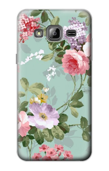 Printed Flower Floral Art Painting Samsung Galaxy J1 Case