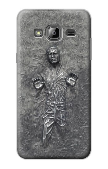 Printed Han Solo in Carbonite Samsung Galaxy J1 Case
