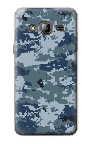 Printed Navy Camo Camouflage Graphic Samsung Galaxy J1 Case