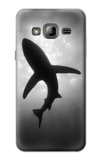 Printed Shark Monochrome Samsung Galaxy J1 Case