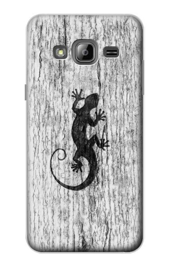 Printed Gecko Wood Graphics Printed Samsung Galaxy J1 Case