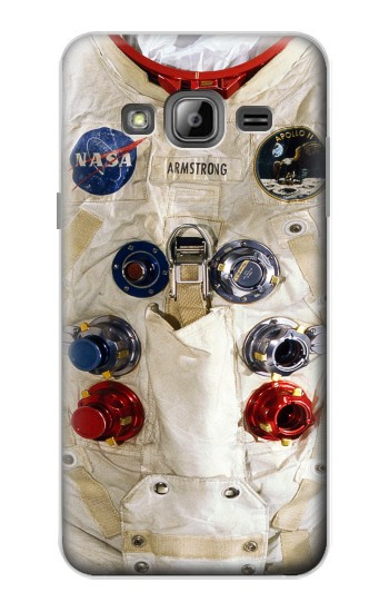 Printed Neil Armstrong White Astronaut Spacesuit Samsung Galaxy J1 Case