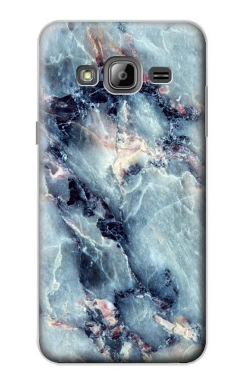 Printed Blue Marble Texture Samsung Galaxy J1 Case
