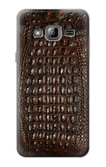 Printed Brown Skin Alligator Graphic Printed Samsung Galaxy J1 Case