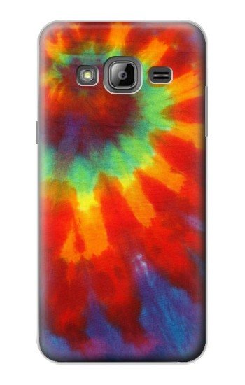 Printed Colorful Tie Dye Fabric Texture Samsung Galaxy J1 Case