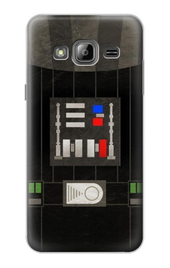 Printed Darth Vader Chest Plate Samsung Galaxy J1 Case