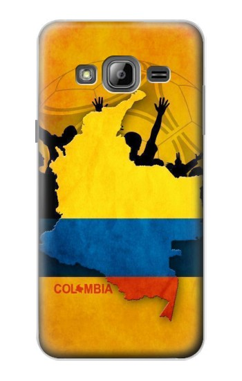 Printed Colombia Football Flag Samsung Galaxy J1 Case