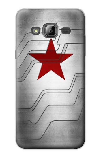 Printed Winter Soldier Bucky Arm Texture Samsung Galaxy J1 Case