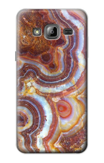 Printed Colored Marble Texture Printed Samsung Galaxy J1 Case