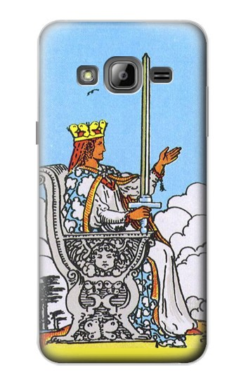 Printed Tarot Card Queen of Swords Samsung Galaxy J1 Case