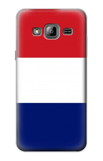 Printed Flag of France and the Netherlands Samsung Galaxy J1 Case