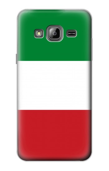 Printed Flag of Italy and Mexico Samsung Galaxy J1 Case