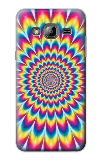 Printed Colorful Psychedelic Samsung Galaxy J1 Case
