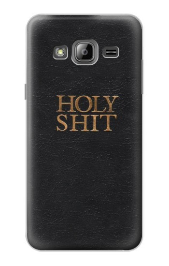 Printed Funny Holy Shit Samsung Galaxy J1 Case