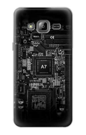Printed Mobile Phone Inside Samsung Galaxy J1 Case