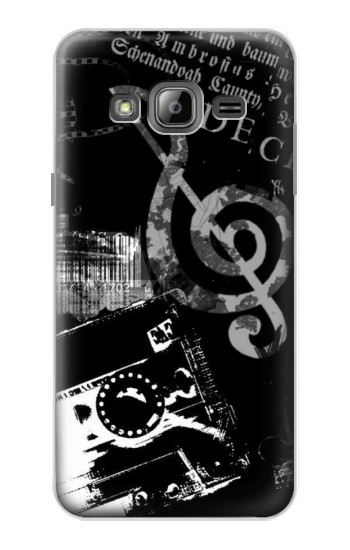 Printed Music Cassette Note Samsung Galaxy J1 Case