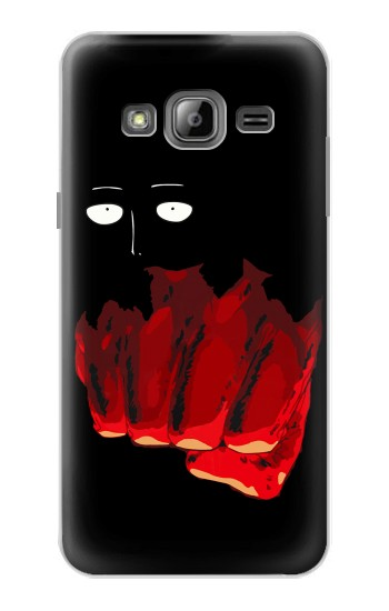 Printed One Punch Man Fight Samsung Galaxy J1 Case