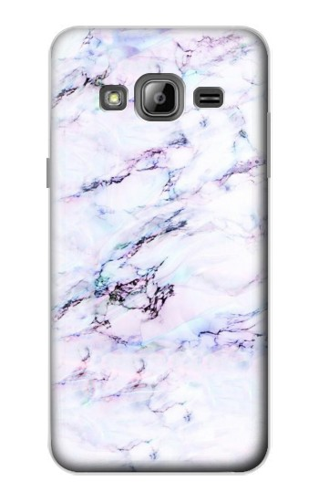Printed Seamless Pink Marble Samsung Galaxy J1 Case