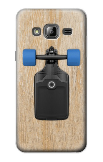 Printed Skateboard Samsung Galaxy J1 Case