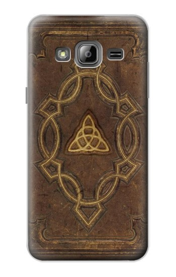 Printed Spell Book Cover Samsung Galaxy J1 Case