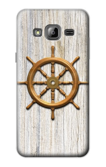 Printed Steering Wheel Ship Samsung Galaxy J1 Case