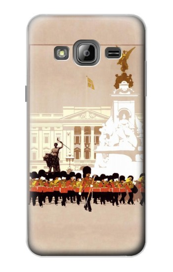 Printed Vintage Travel Brochure London Samsung Galaxy J1 Case