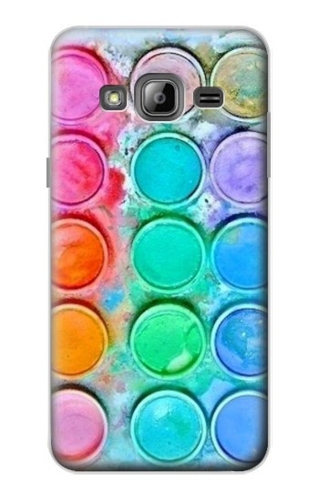 Printed Watercolor Mixing Samsung Galaxy J1 Case