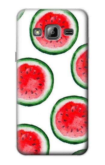 Printed Watermelon Pattern Samsung Galaxy J1 Case
