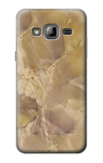 Printed Yellow Marble Stone Samsung Galaxy J1 Case