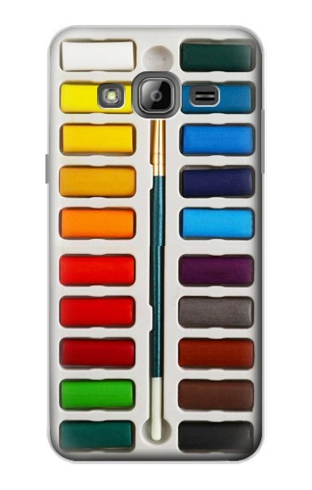 Printed Watercolor Paint Set Samsung Galaxy J1 Case