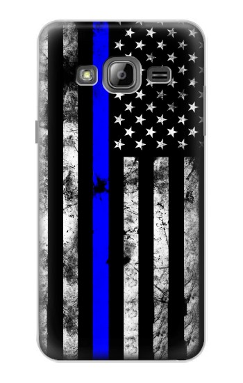Printed Thin Blue Line USA Samsung Galaxy J1 Case