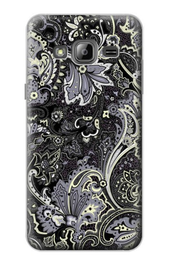 Printed Batik Flower Pattern Samsung Galaxy J1 Case