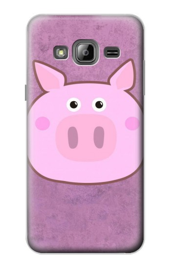 Printed Pig Cartoon Samsung Galaxy J1 Case