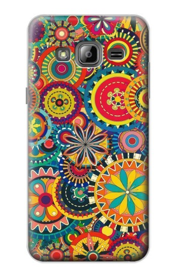 Printed Colorful Pattern Samsung Galaxy J1 Case