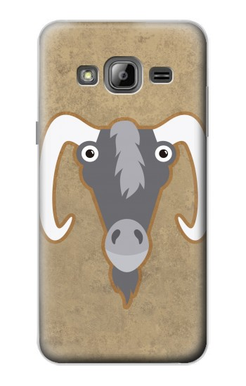 Printed Goat Cartoon Samsung Galaxy J1 Case